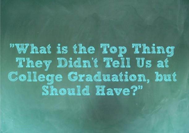 Top Truths College Graduation