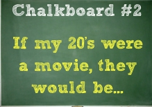 If My Twenties Were a Movie...
