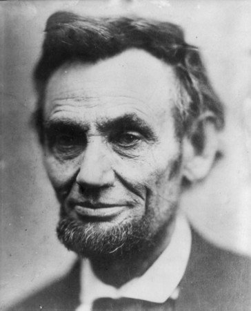 Picture of Abe Lincoln That I Took in My Office