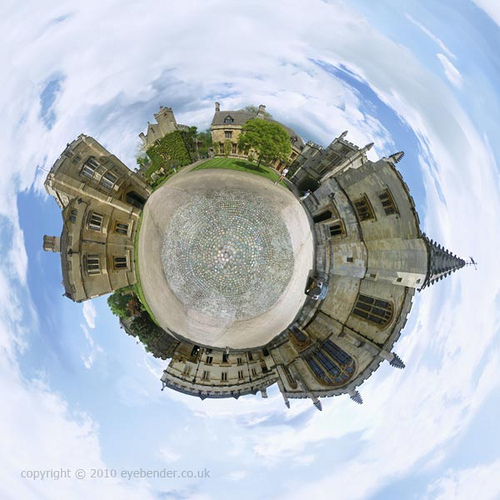 Sweet Picture of Oxford University