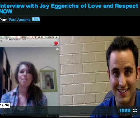 Interview with Joy Eggerichs of Love and Respect NOW