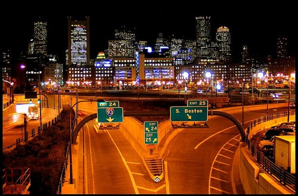 Picture of Boston at Night