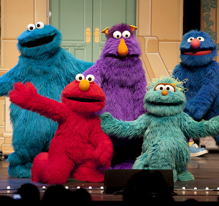 Occupy Marches on Sesame Street