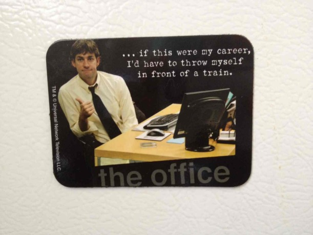 Jim from The Office Take on Career
