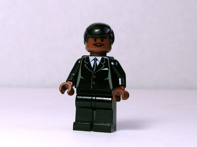 Lego Leader in a Suit