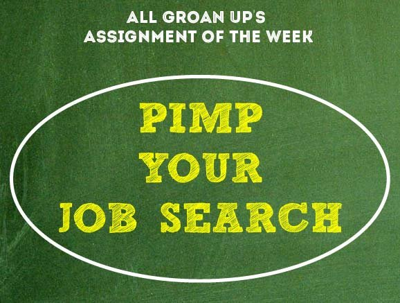 How to Pimp Your Job Search