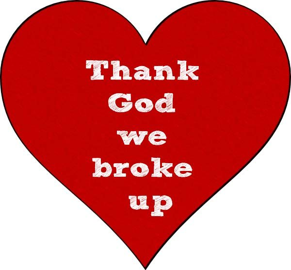 Thank God we broke up picture