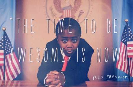 "Kid President Speaks the Truth: ""You Were Made to be Awesome"""