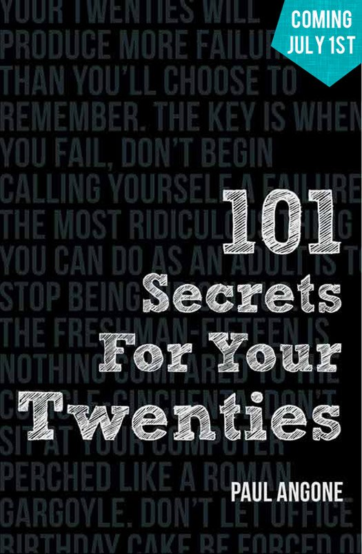 101 Secrets for your Twenties - Coming July 1st