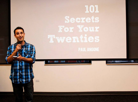 101 Secrets for your Twenties Giveaways, Parties, and Pictures