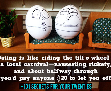 The Greatest Twentysomething Photos (as portrayed by eggs)