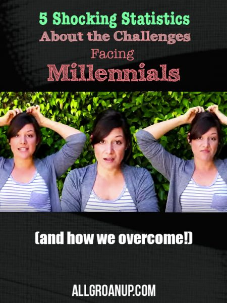 "5 Shocking Statistics About Real ""Millennial Problems"" (and how we overcome)"
