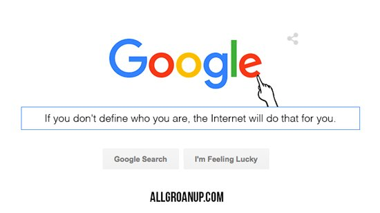 What is Google Saying About You? -- AllGroanUp.com