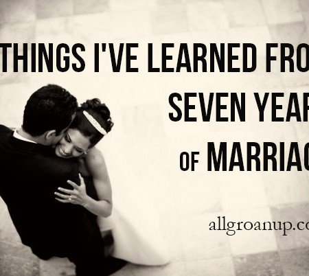7 Things I've Learned From Seven Years of Marriage