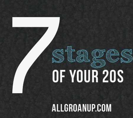 The 7 Stages of Your 20s (as explained by hilarious GIFs)