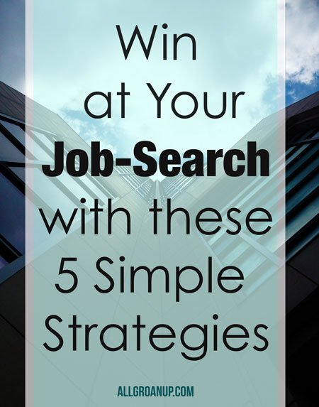 Win-at-your-job-search with these simple strategies