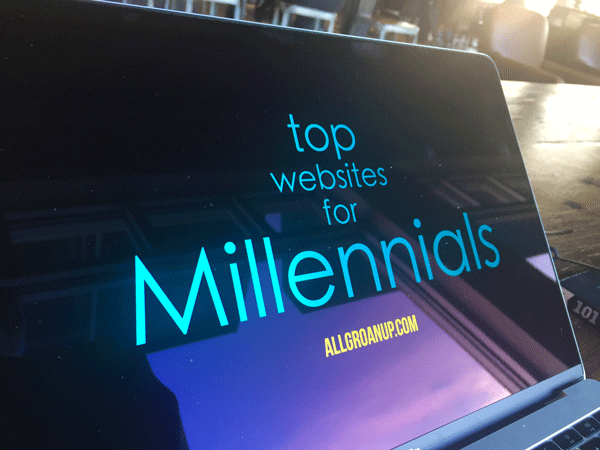 List of the Top Websites for Millennials and 20-somethings