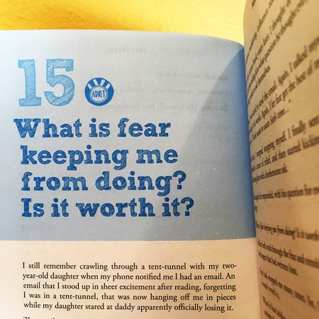 What is fear keeping you from doing?