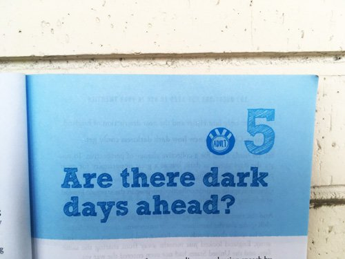 Are there dark days ahead?
